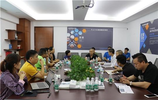 群英荟聚,商海志商道私董会走进汉的电气共襄发展盛事