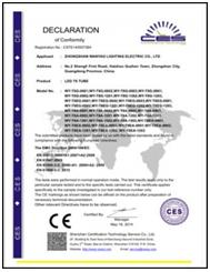 CES认证证书